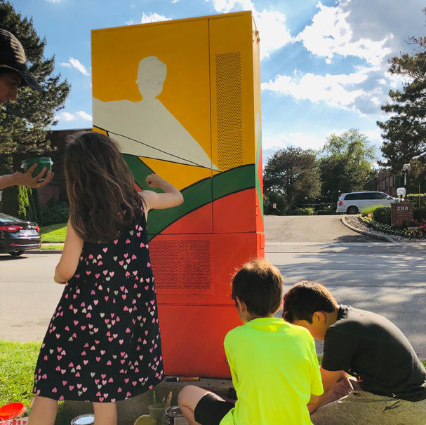Bell Box Murals (Toronto, Canada) 2019