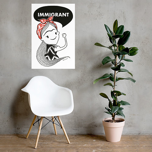 IMMIGRANT POWER Poster