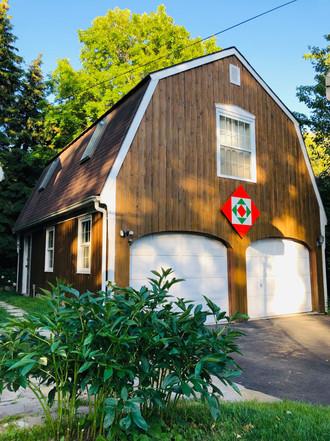 Custom Barn Quilt (Scarborough, Canada) 2019