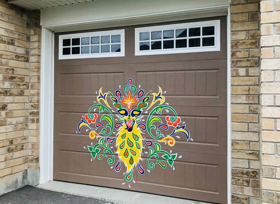 Pakistani Truck Art Inspired Residential Mural (Brampton, Canada) 2019