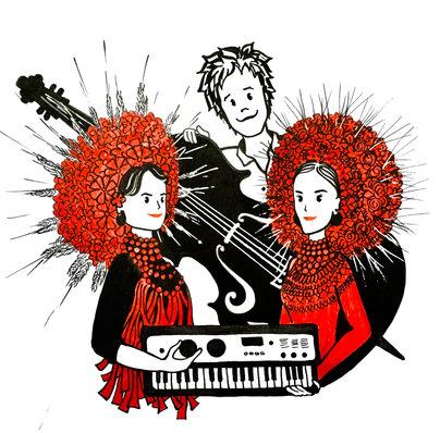 Illustration for a world music band DagaDana (Warsaw, Poland)