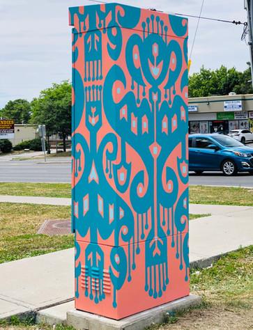 Outside The Box by StreetARToronto (Toronto, Canada) 2020
