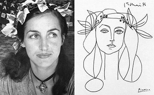 Las mujeres de Picasso. Françoise Gilot