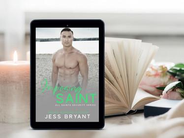 Release Blitz: Imposing Saint by Jess Bryant