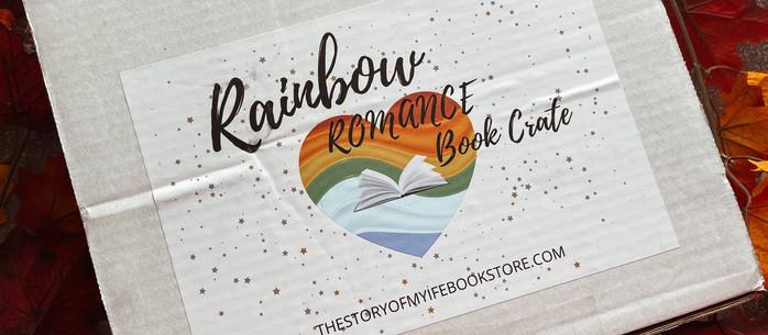 Unboxing: Rainbow Romance Book Box