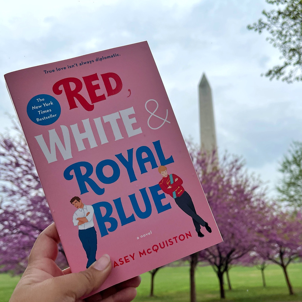 Red, White & Royal Blue with the Washington Monument