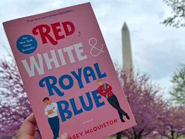 Books On Location: Red, White and Royal Blue by Casey McQuiston