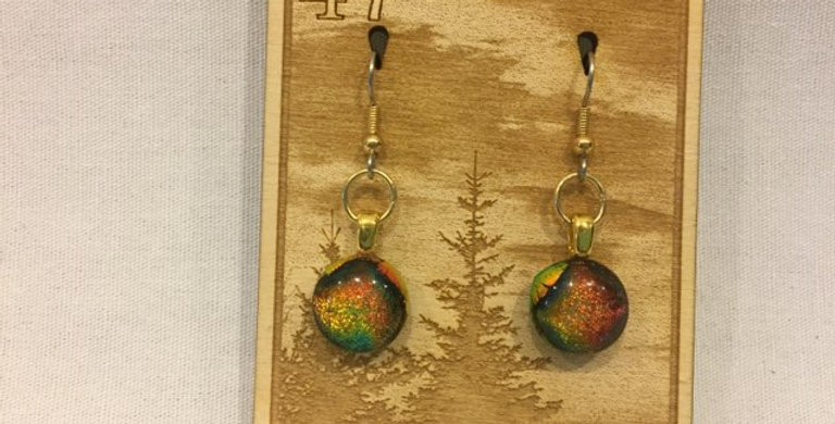 Glass Fused Earrings