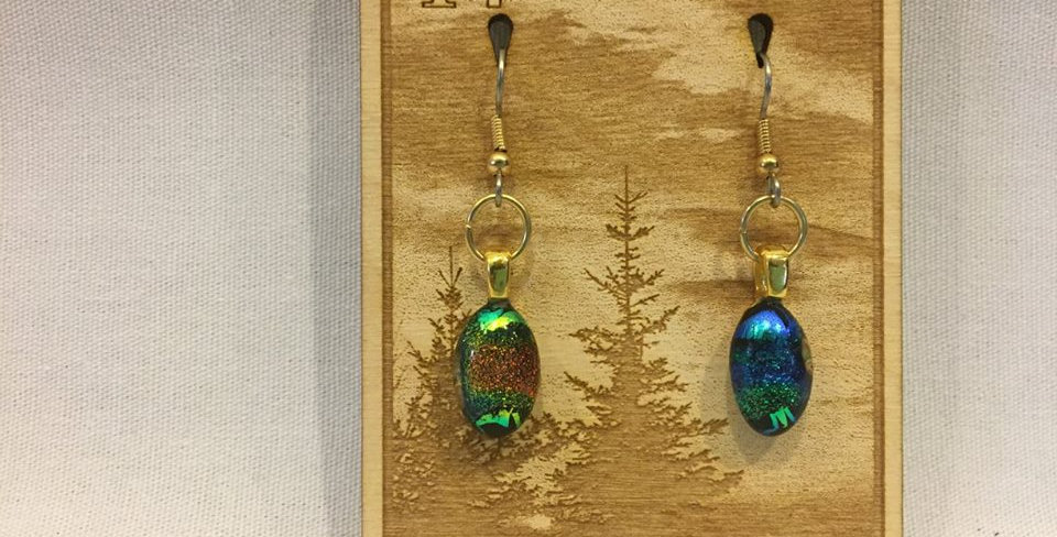 Glass Fused Earrings