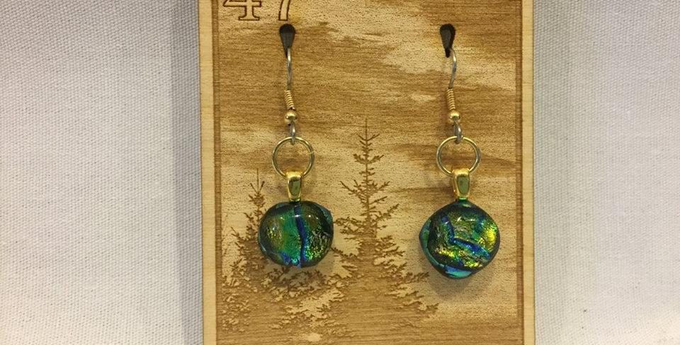 Glass Fused Earring