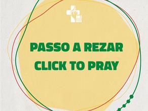 JMJ Lisboa 2023 com o Click To Pray e o Passo a Rezar