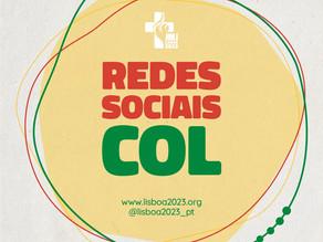 Redes sociais JMJ 2023 Lisboa