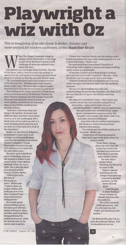 U on Sunday Article