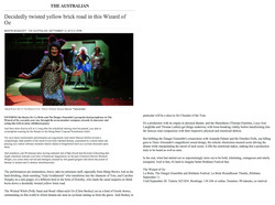 The Australian Review Wizard of Oz