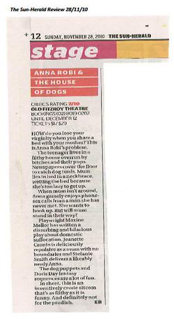 Sun Herald Article