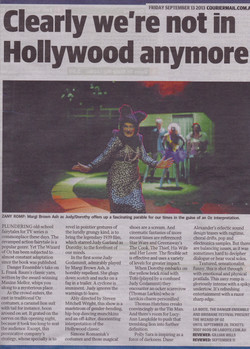 Courier Mail Review Wizard of Oz
