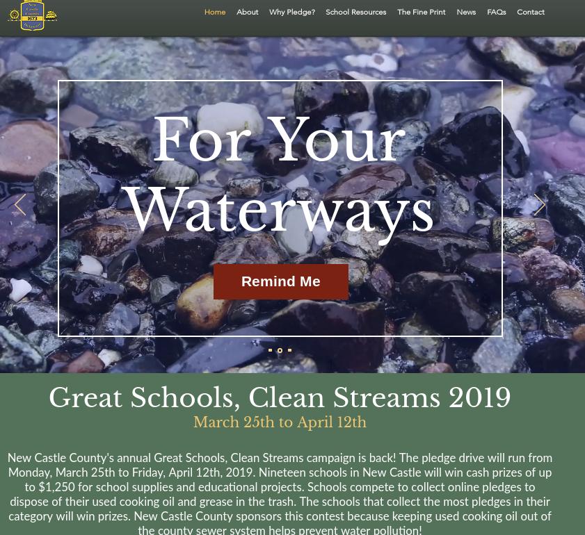 Great Schools, Clean Streams