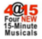 Logo for 4@15 Four NEW 15-Minute Musicals
