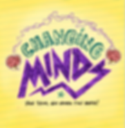 Logo for Changing Minds - The Musical. High School was never this mental!
