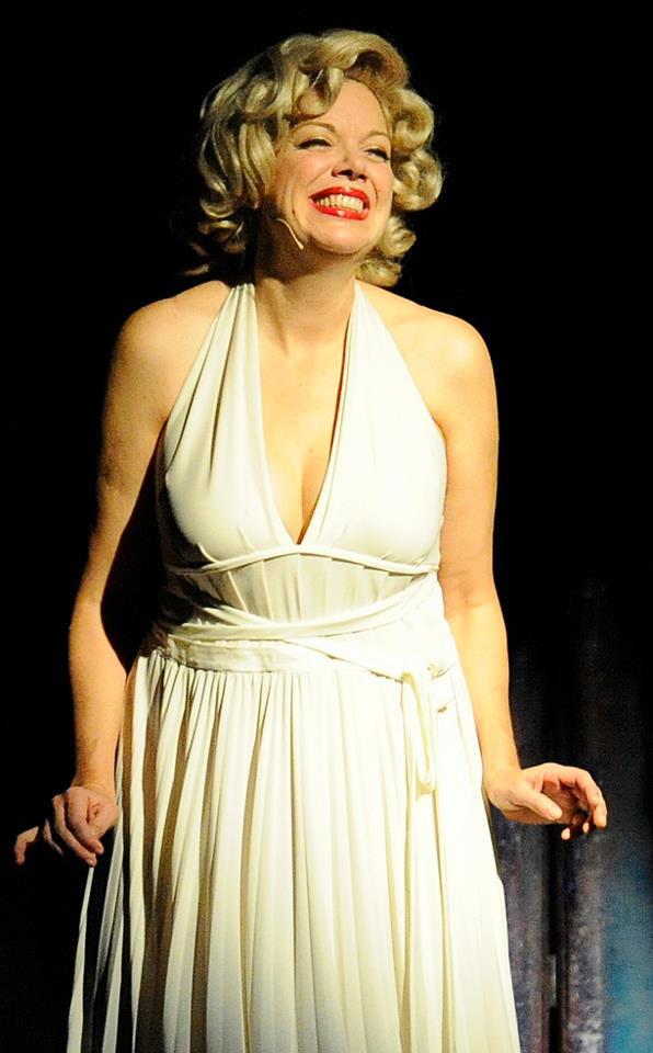 Louisa Bradshaw as Marilyn Monroe in Siren's Heart: Marilyn Monroe in Purgatory
