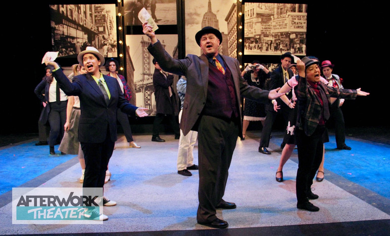 """Guys and Dolls """"Holy Rollers"""" Cast"""