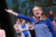 Grace Rudd as Gabby in Space Pirates! at The Broadway Workshop's production at The Children's Musical Theatre Festival