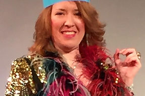 "Trudy Carmichael, Winner of The Cabaret Showdown - ""Weird Science"""