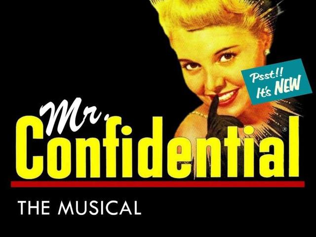 Mr. Confidential Logo