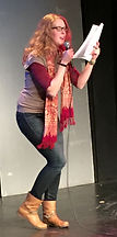 Jennifer James Davies, Winner Jan 2016 performing at The Cabaret Showdown at The Kraine Theater