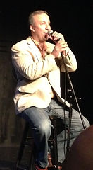 John Thomas Greatway, Winner Apr 2014 performing at The Cabaret Showdown at The Kraine Theater