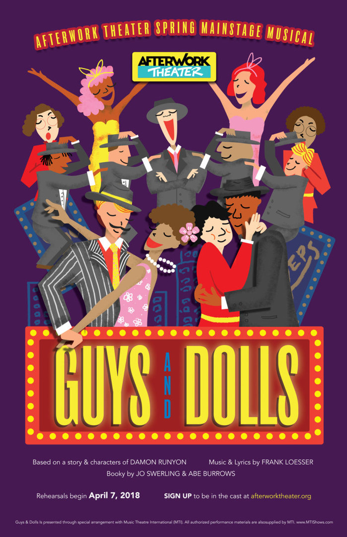 Guys and Dolls at AfterWork Theater