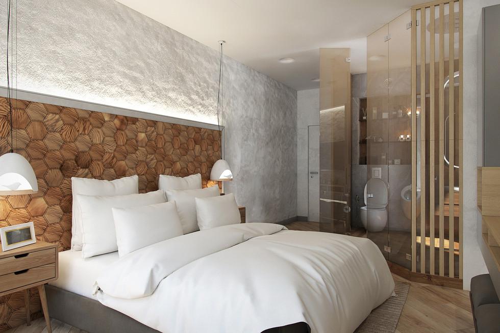 Квартира 115 м.кв. Clever Park (Спальня)