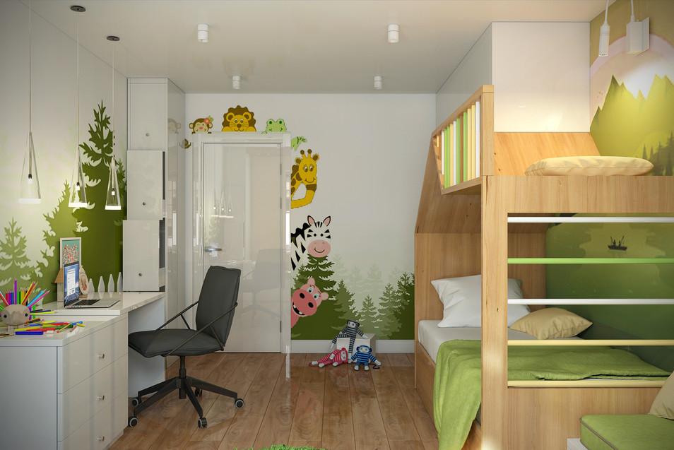 Квартира 69 м.кв. ЖК Рассветный