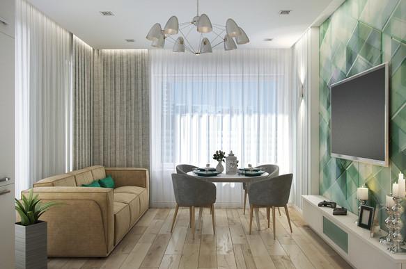 Квартира 101 м.кв. в Clever Park