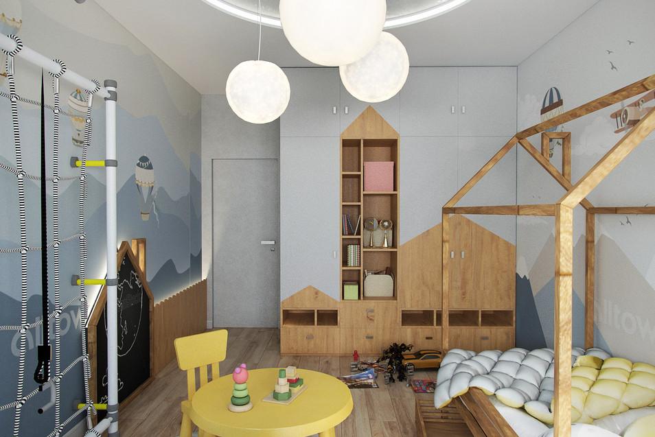 Квартира 115 м.кв. Clever Park (Детская)