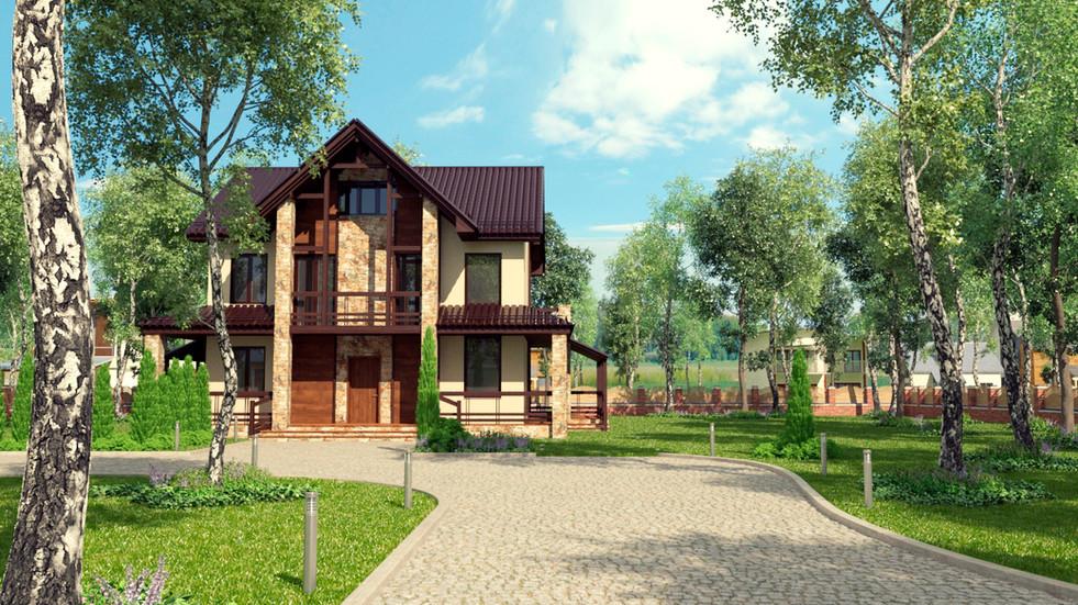 2-х этажный дом в г.Екатеринбурге