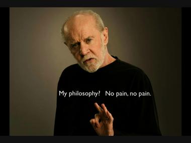 No Pain, No Pain...