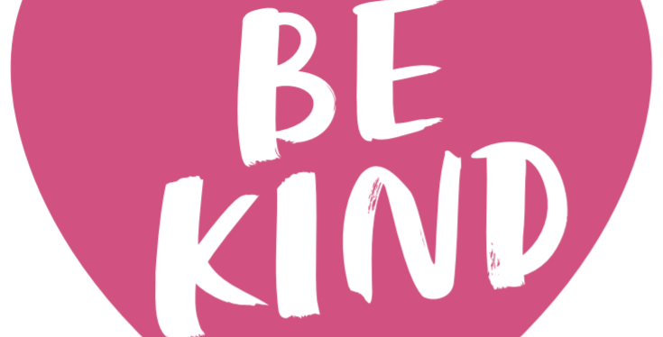 Be Kind Floor Graphic