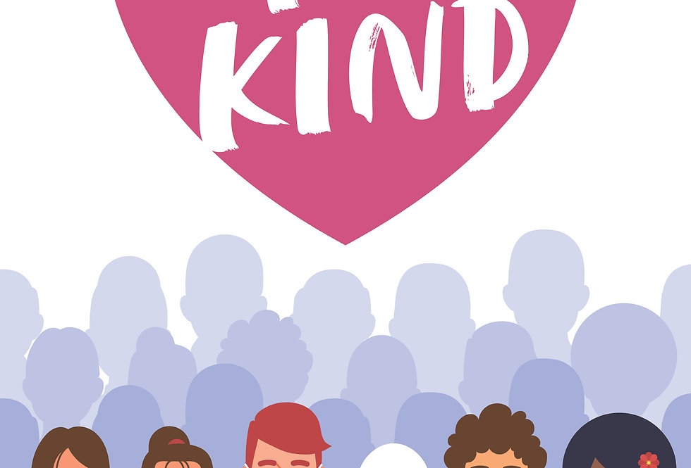 Be Kind A3 Poster