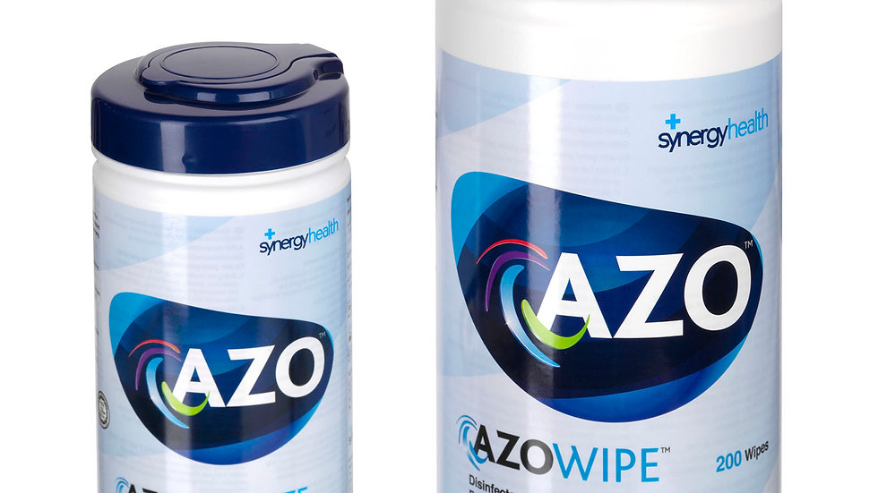 Azo Alcohol (70%) Wipe (200 wipes per tub)