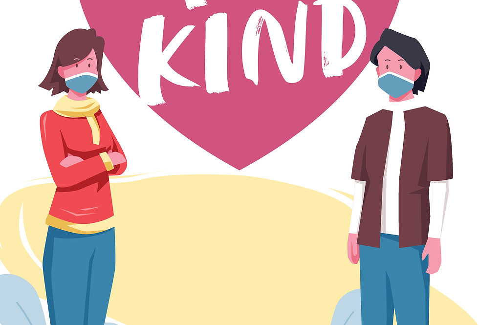 Be Kind Second A3 Poster