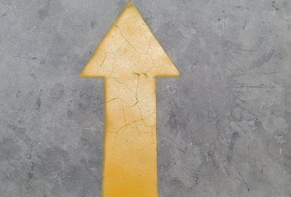 Directional Arrow Stencil