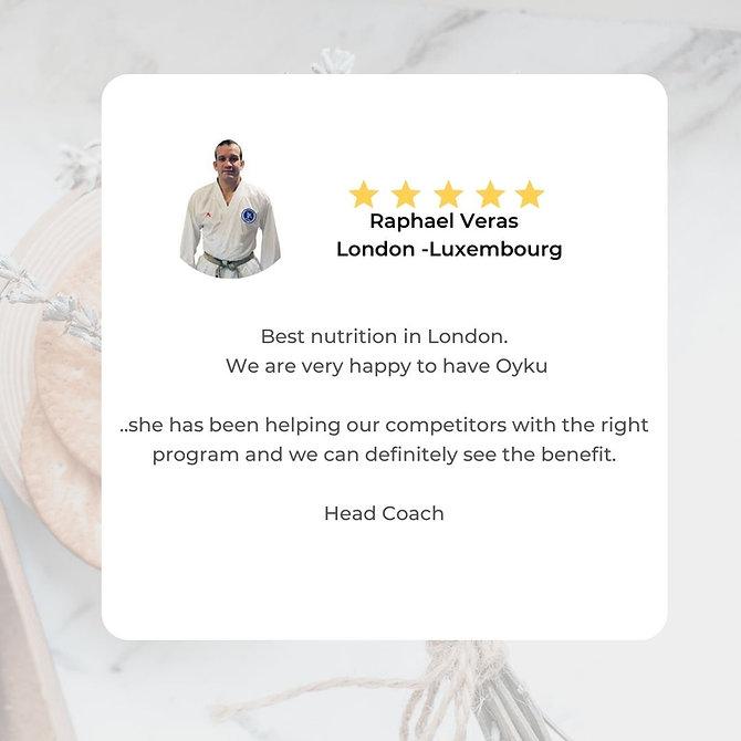 White Client Testimonial Instagram Post