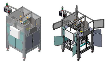 machine Decellophaneuse industrielle