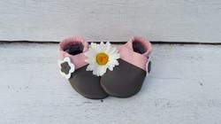grau/rosa + Blume seitlich ab 24,-
