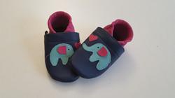 dunkelblau/pink + Elefant ab 25,-