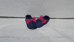 dunkelblau + Schleife pink ab 24,-