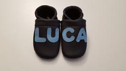 schwarz+LUCA hellblau ab 24,-