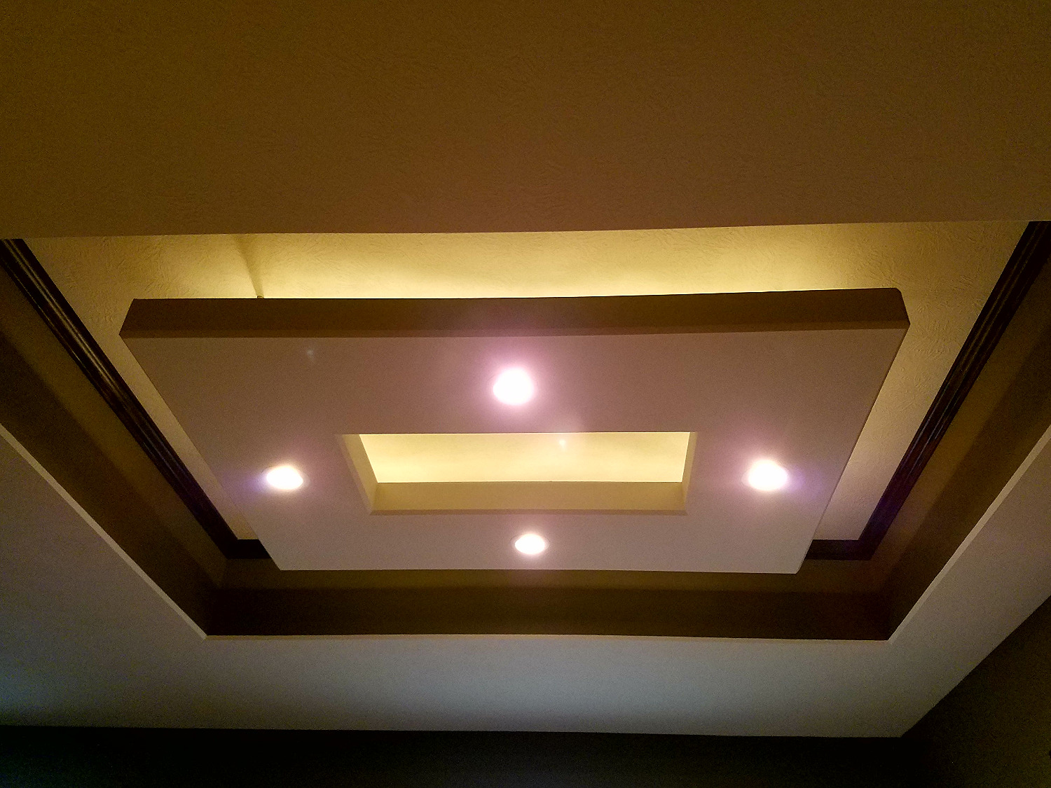 Back-lit Floating Ceiling