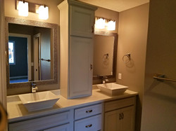 Modern Dual Sink with Tower
